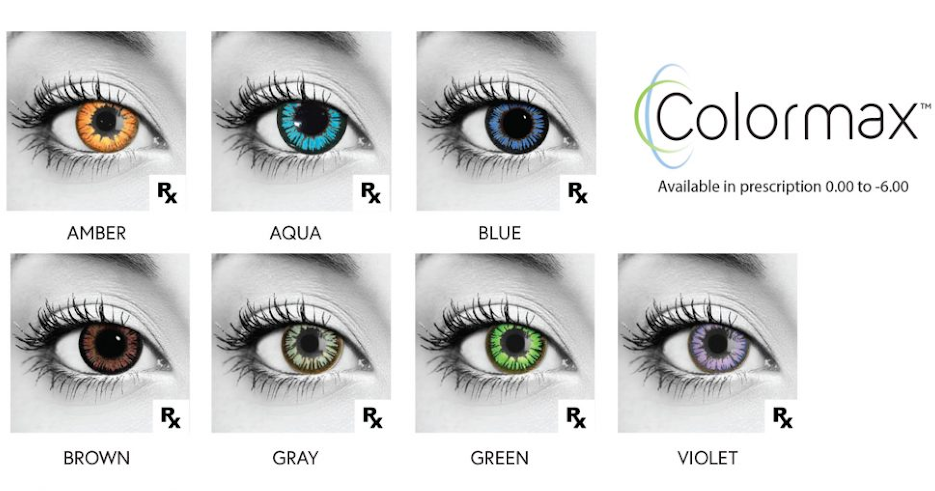 Color Lenses by Colormax
